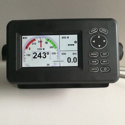 HP528A Marine GPS Navigator Combo with AIS Transponder 4.3Inch Color LCD os12