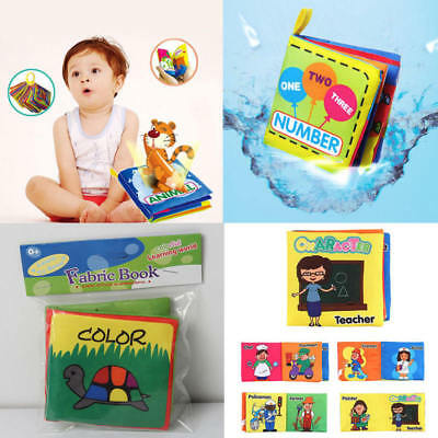 Intelligent Development Cloth Bed Cognize Book Educational Toy For Kids Baby Hot