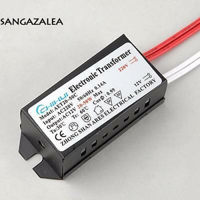 New 20-50W AC 220V to 12V 0.14A LED Power Supply Driver Electronic s2zl