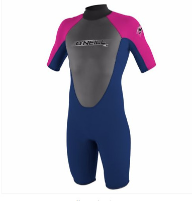 O'Neill Reactor Spring Wetsuit Girls SIZE 8 REF ND74^