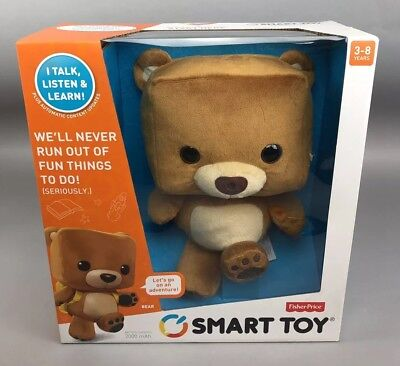 Smart Toy Bear Fisher Price Talking Learning Interactive Plush Stuffed Toy