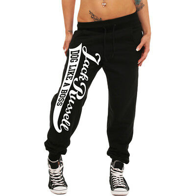 Girls Jogginghose JACK RUSSELL sweatpants hose hund hunde frauen dogs dog girl