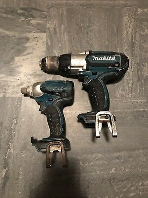 Makita 18v Percussion Hammer Drill + Impact Driver Body's Only