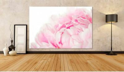 COLORFUL  FLOWERS & TREES WATERCOLOR ART WALL Canvas home wall choose your size