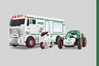 2018 Hess Holiday Toy Truck