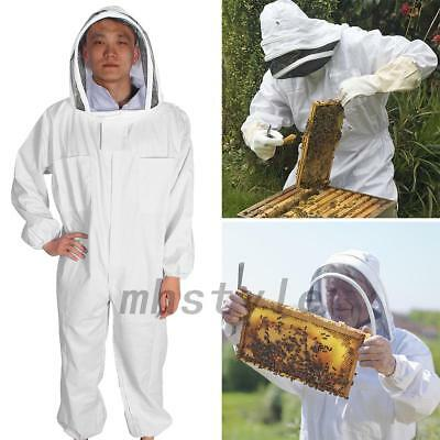 BeeKeepers Bee Suit Beekeeping White Protective Equipment Premium Quality