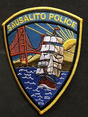 "Sausalito Police CA ""square rigger"" vintage version * Genuine Kokopelli patch *"