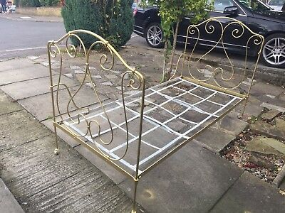 Antique French Folding Day Bed