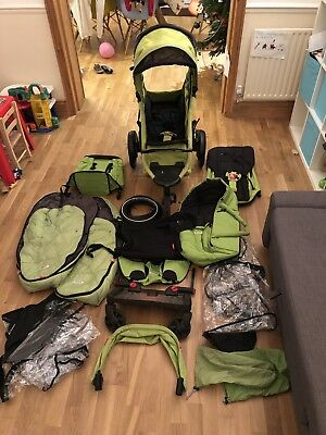 Phil & Teds Sport V2 Double Pushchair Ultimate Package *see Extras* Buggy Board