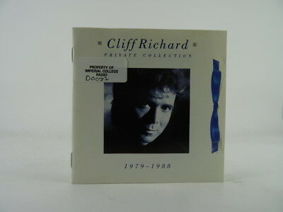 CLIFF RICHARD, PRIVATE COLLECTION 1979-1988, EX/EX, 19 Track, CD Album, Picture