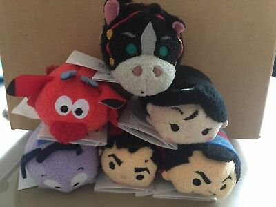 Tsum Tsum  - Mulan Set - Brand New With Tags