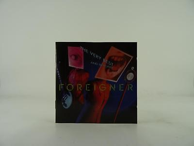 FOREIGNER, THE VERY BEST AND BEYOND, VG/G, 17 Track, CD Album, Picture Sleeve, A