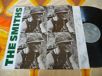 Lp The Smiths Meat Is Murder 1985 French Press Promo Stamp Rough Trade