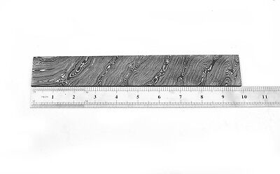 Custom Twist Damascus Steel Billet Bar For Making Knife BB501