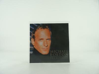 MICHAEL BOLTON, THE ULTIMATE, EX/EX, 17 Track, Promotional CD Album, Picture Sle