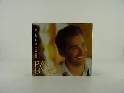 PAUL BYROM, THIS IS THIS MOMENT, VG/VG, 14 Track, Promotional CD Album, Card Sle