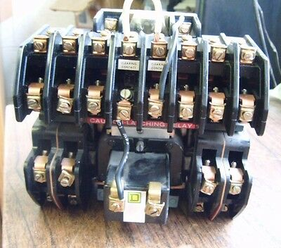 Square D Lighting Contactor 8903Ll01000