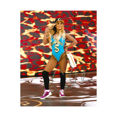 Official WWE Authentic Carmella 8 x 10 Autographed Photo