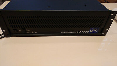 QSC-USA-900-Professional Amplifier Stereo-Power-Amp Endstufe bis 2 x 550W!