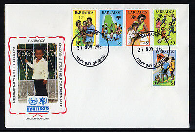Barbados - 1979,  International Year of the Child FDC
