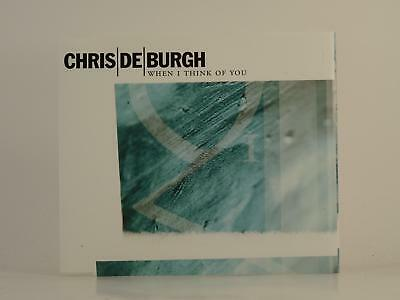 CHRIS DE BURGH,WHEN I THINK OF YOU,EX/EX,1 Track, Promotional CD Single, Picture
