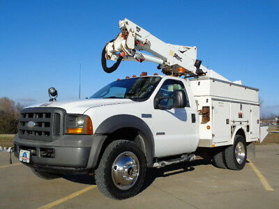 05 43' 4X4 Bucket Truck Boom Basket Lift Aerial Utility Service 4wd AC Altec