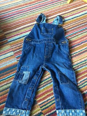 Cath Kidston Dungarees 1/2 Years