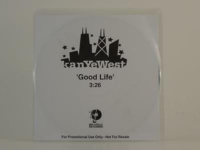 KANYE WEST,GOOD LIFE,EX/EX,1 Track, Promotional CD Single, White Sleeve,ROC-A-FE