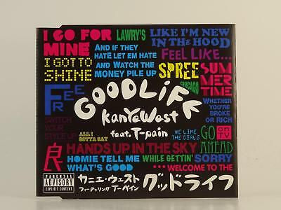KANYE WEST FT T-PAIN,GOOD LIFE,EX/EX,2 Track, CD Single, Picture Sleeve,ROC-A-FE
