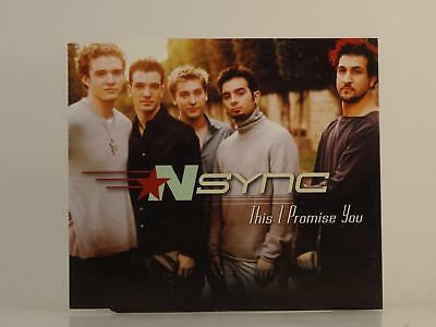 NSYNC,THIS I PROMISE YOU,EX/EX,3 Track, CD Single, Picture Sleeve,JIVE
