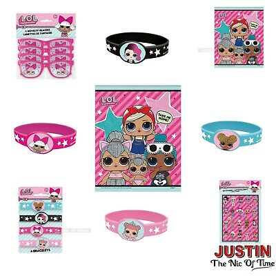 LOL Suprise Birthday Party Supplies Girls Childrens Party Loot Bags & Fillers