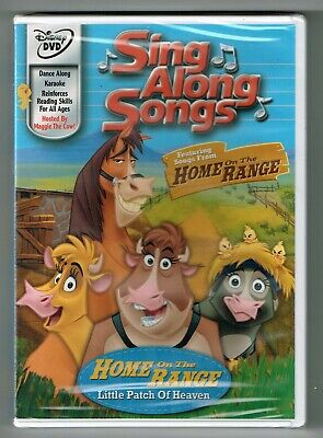 Disney's Sing-Along Songs Home on Range Little Patch of Heaven DVD New Sealed