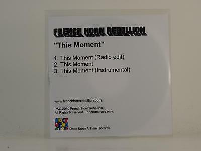 FRENCH HORN REBELLION,THIS MOMENT,EX/EX,3 Track, Promotional CD Single, White Sl