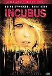 Incubus (DVD, 2007) Unrated, Tara Reid, Alice O'Connell HORROR  Brand New