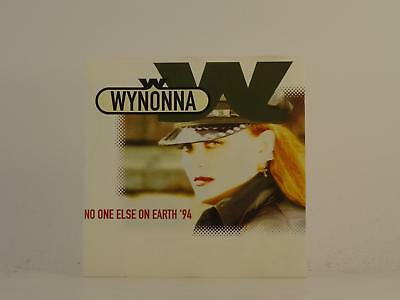 WYNONNA W,NO ONE ELSE ON EARTH '94,EX/EX,3 Track, CD Single, Picture Sleeve,CURB