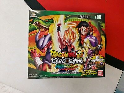 Dragon Ball Super Card Game Miraculous Revival Sealed Booster Box 24 Packs B05 Z