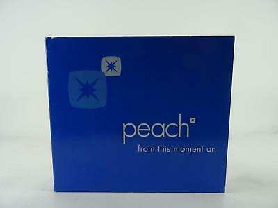 PEACH,FROM THIS MOMENT ON,EX/EX,6 Track, Promotional CD Single, Card Sleeve,MUTE