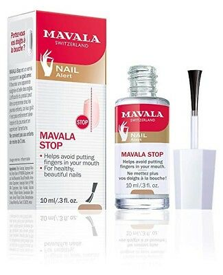 MAVALA STOP Helps Prevent Nail Biting and Thumb Sucking 10ml/.3 fl oz. NEW