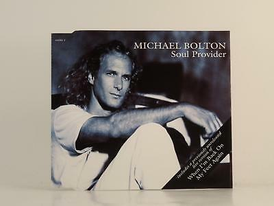MICHAEL BOLTON,SOUL PROVIDER,EX/EX,4 Track, CD Single, Picture Sleeve,COLUMBIA