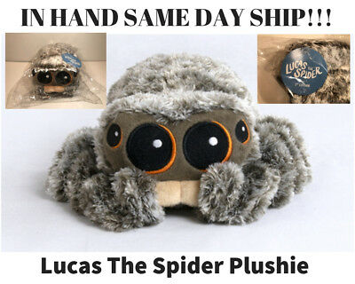 Lucas The Spider Plushie 1st Edition Brand NEW IN HAND SOLD OUT FAST SHIPPING!!