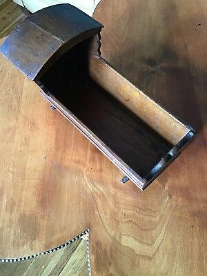 Antique Handcrafted  Minature Doll Furniture Salesmen's Sample Cradle  ~EUC