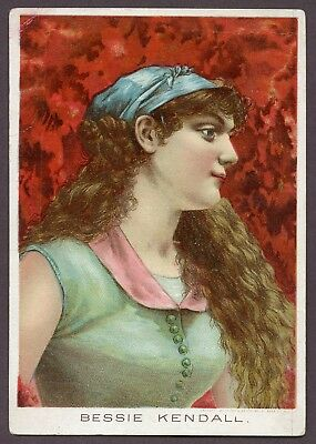 """1880s D.E. Rose & Co. """"Bessie Kendall"""" VERY GOOD"""