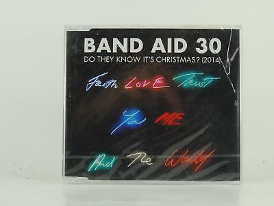BAND AID 30,DO THEY KNOW IT'S CHRISTMAS? (2014),EX/EX,4 Track, CD Single, Pictur