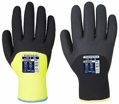 Portwest TouchScreen Knit Insulatex Glove Winter Cold Store Workwear GL16