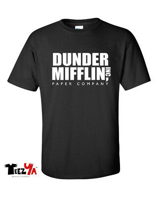 Dunder Mifflin Paper Company T-Shirt The Office TV Gift Tee
