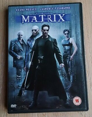 Christmas Gift? THE MATRIX - Keanu Reeves, Laurence Fishburne - DVD Movie VGC