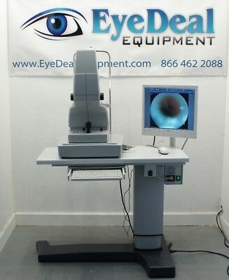 Zeiss Visucam Pro NM w/ Power table, Monitor, mouse, keypad