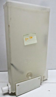Cecilware cappuccino machine hopper/ canister parts plastic, holds powder # 1-14