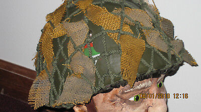 Bulgarian war helmet complete with liner(58) and chin strap