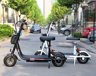 Shining Star 450w/48v Mini City Coco Foldable Electric Motorcycle Ebike Scooter